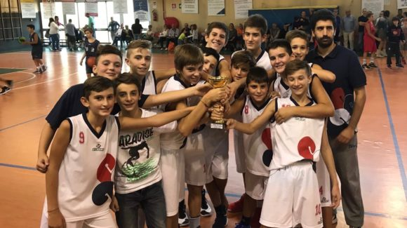 Under 13: 3° Posto al Torneo di Scandicci