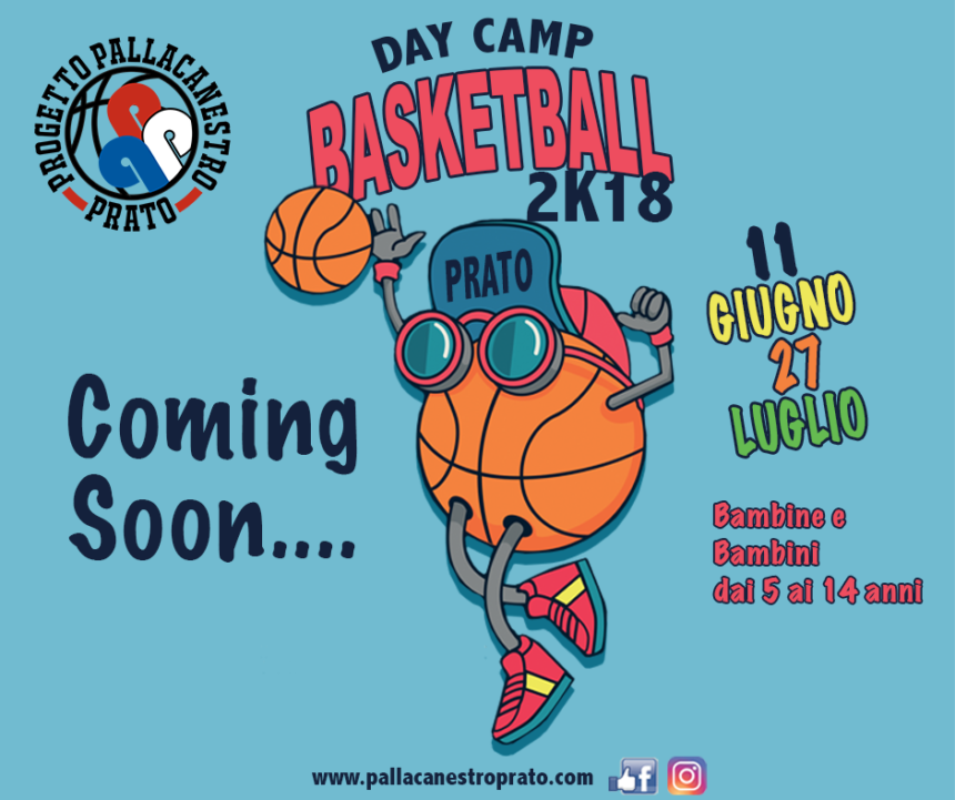 Coming Soon: Day Camp 2k18