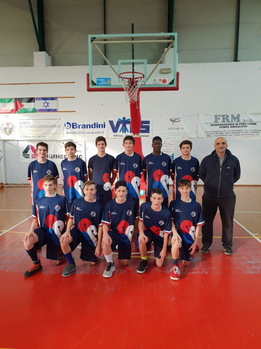 Under 14 Elite corsari sul campo di Scandicci