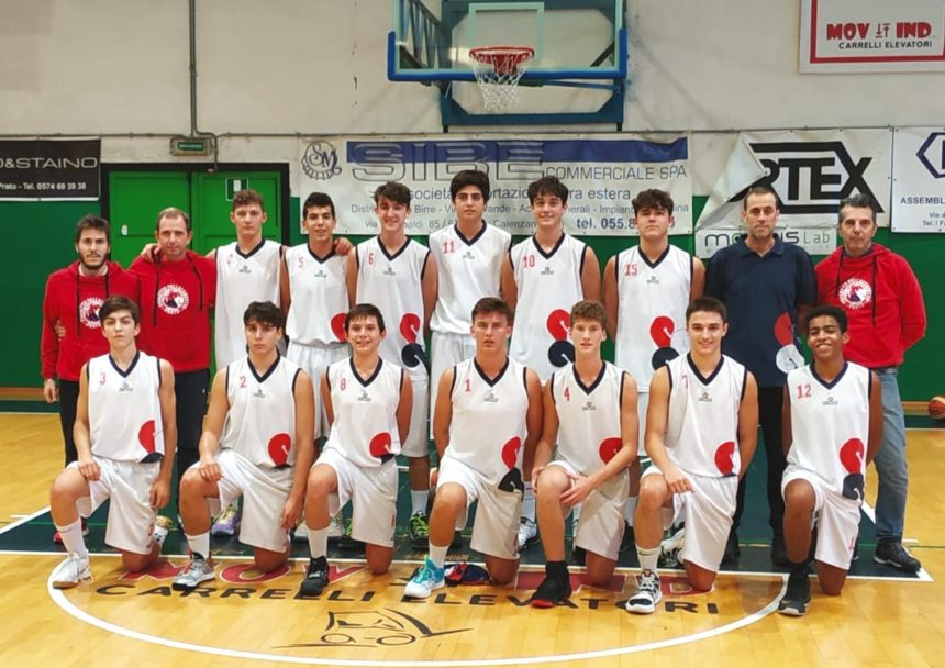 Sconfitta al supplementare per l'Under 16 Eccellenza
