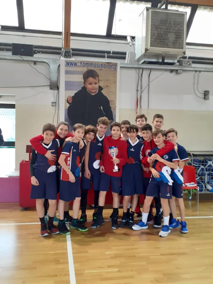 Gli Under 13 secondi al torneo di Firenze