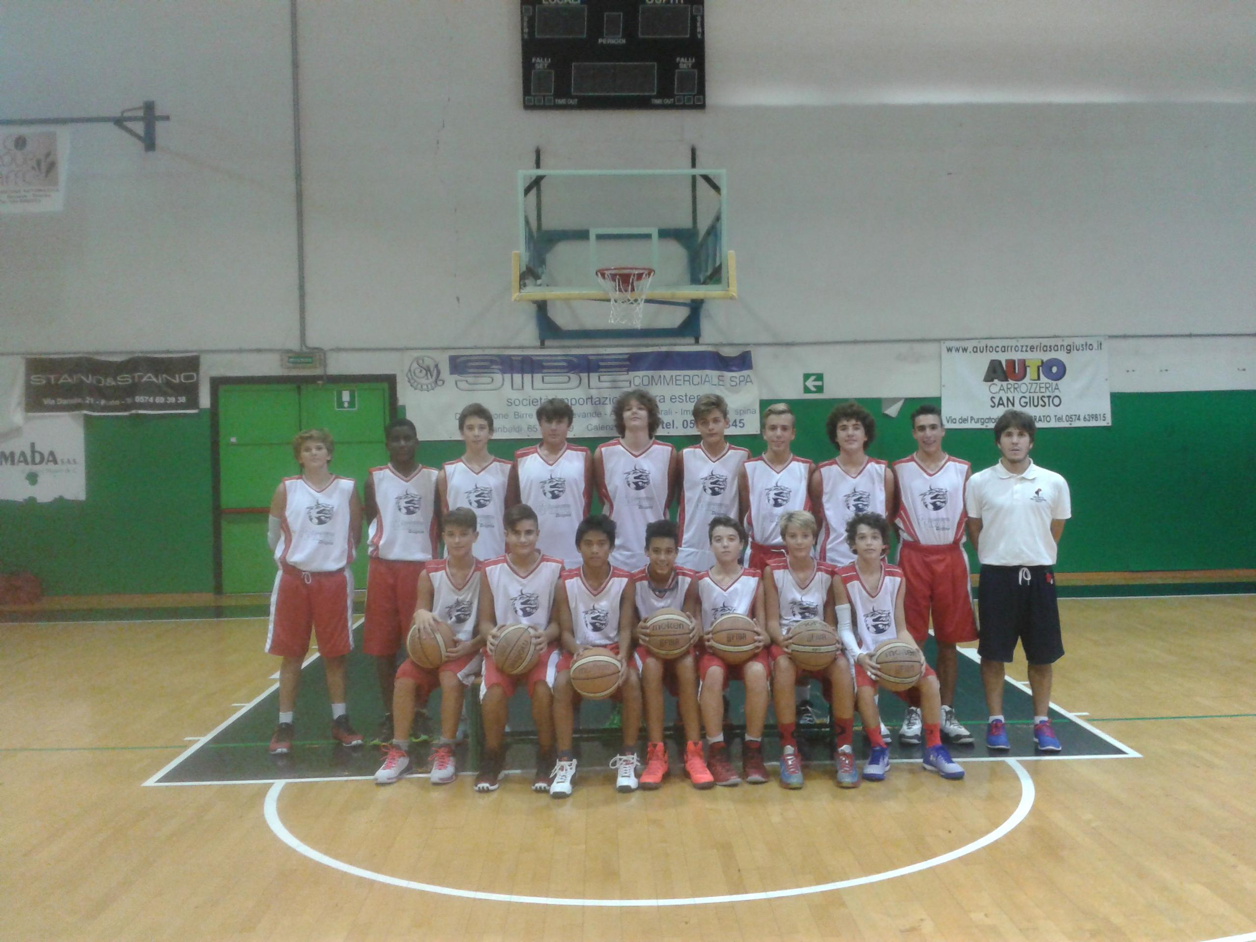 U14 ELITE – Grande giornata di pallacanestro a Prato