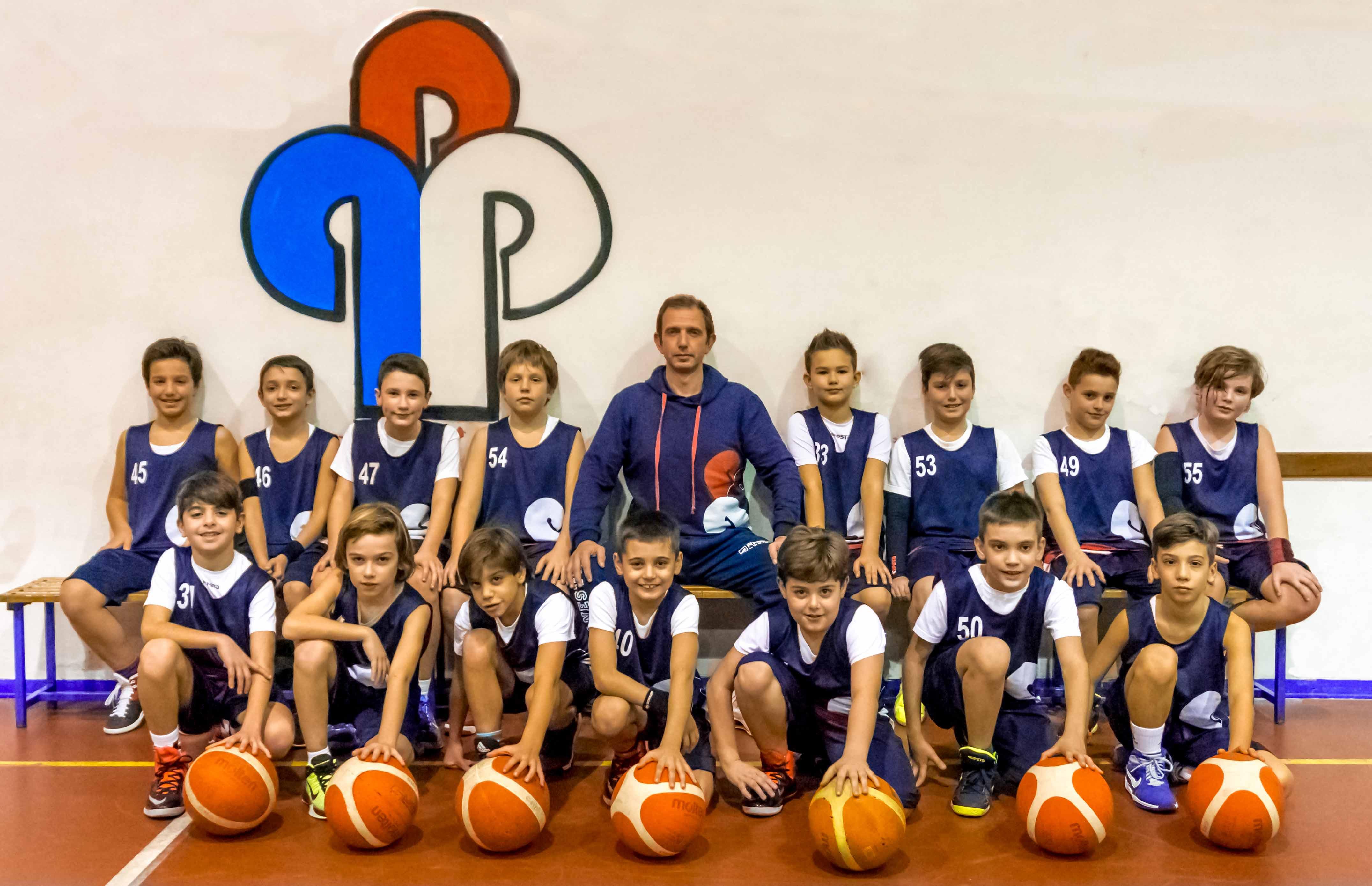 Squadra Aquilotti 2006 minibasket