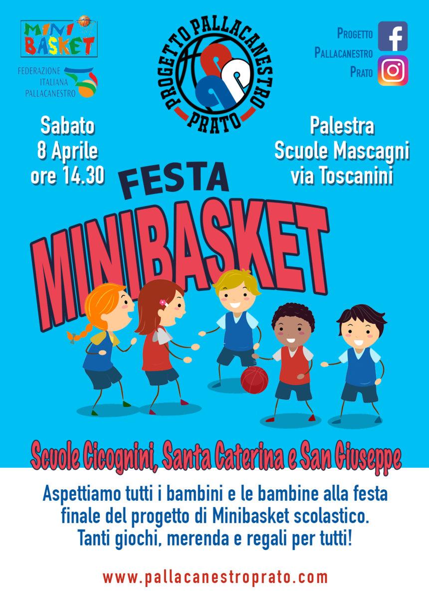 Festa Minibasket con le scuole!