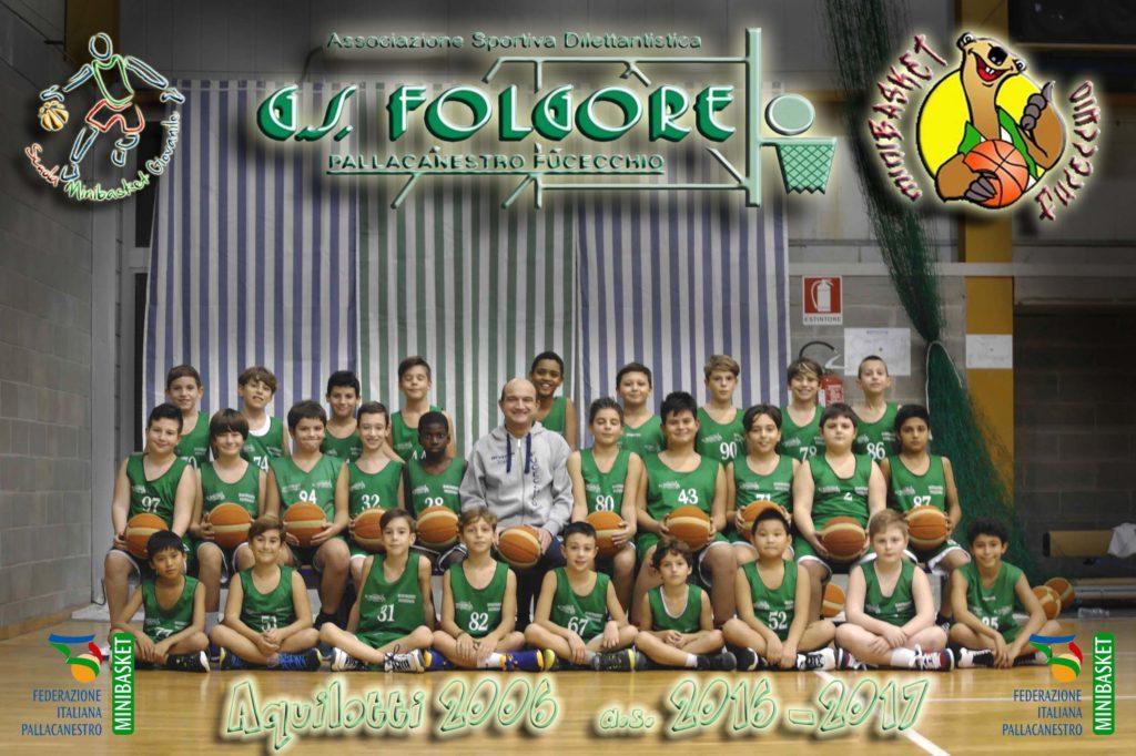 Squadra Aquilotti 2006 Folgore Fucecchio