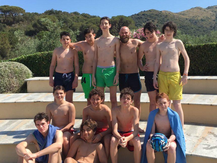 Under 15: Week end all'Elba