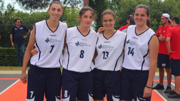 Under 15 Femminile: Prato alle Finali Nazionali 3×3