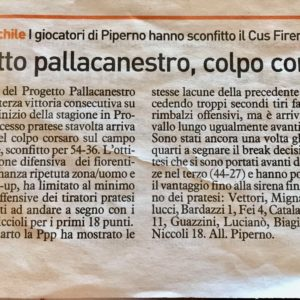 La Nazione 26/10/2017