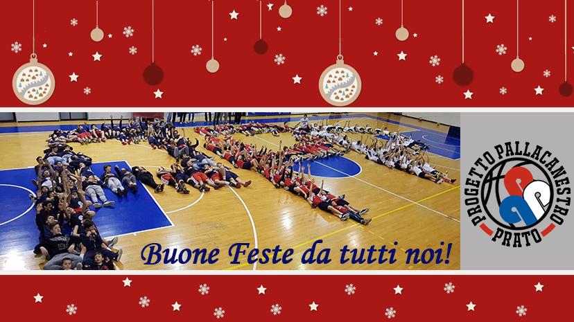 Buon Natale dal Progetto Pallacanestro Prato!