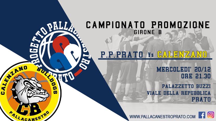 Promozione: P. Pallacanestro Prato vs Calenzano