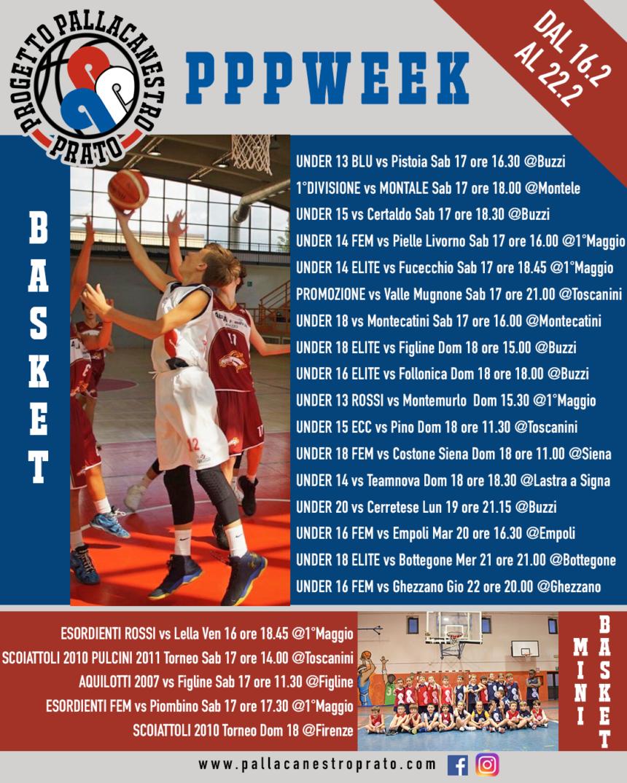 PPPWeek dal 16 al 22 Febbraio