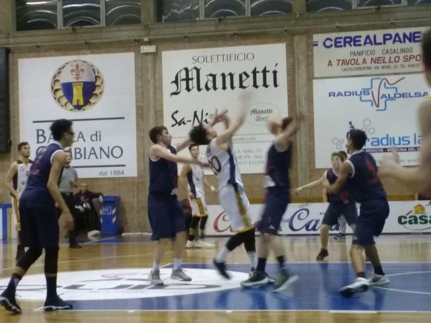 Under 18 Elite: Prova opaca a Castelfiorentino