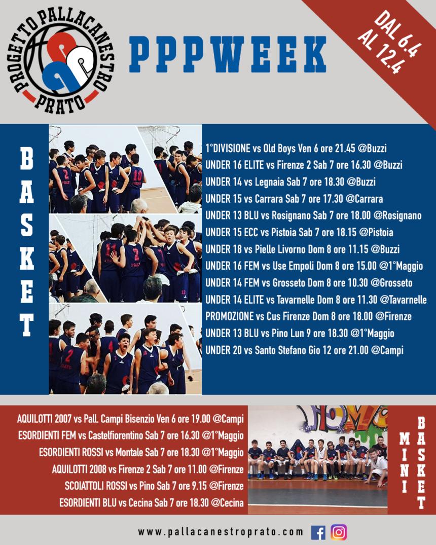 PPPWeek dal 6 al 12 Aprile