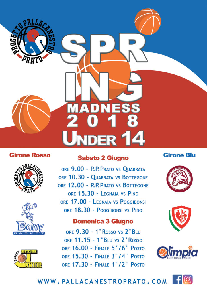 Spring Madness _2018_under14_copertina_fronte