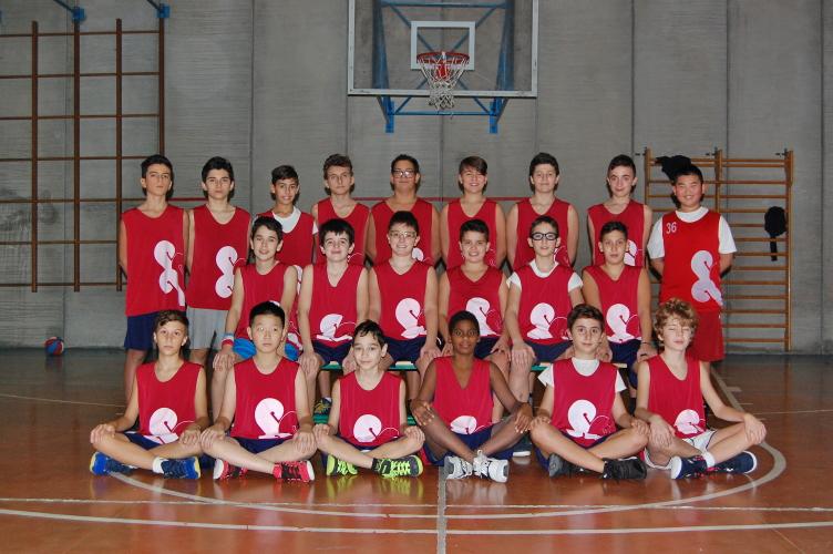 Squadra Under 13 maschile Rosso