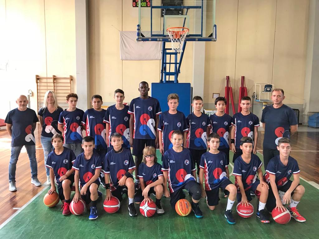 Squadra Under 13 maschile Blu