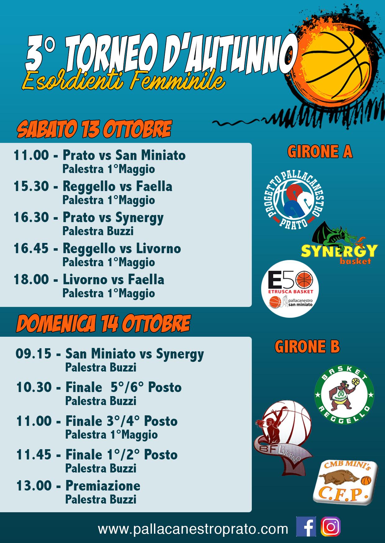 3° Torneo d'autunno 2018_Esordienti_Femminile
