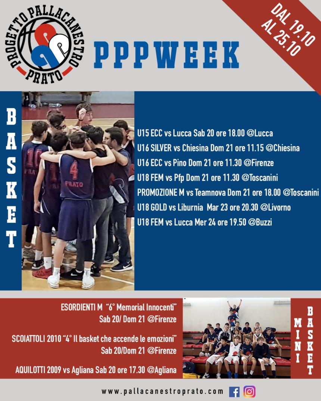 PPPWeek dal 19 al 25 Ottobre