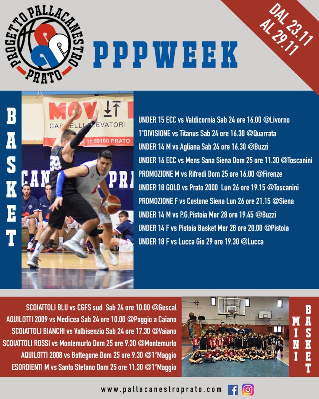 PPPWeek dal 23 al 29 Novembre
