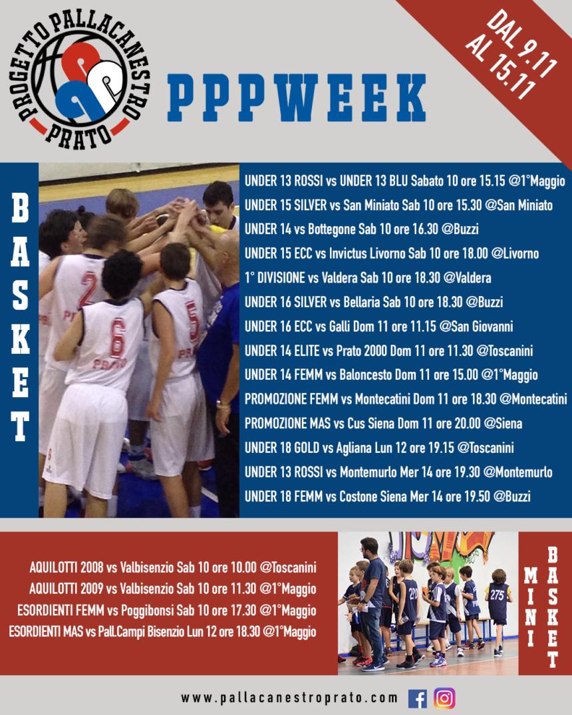 PPPWeek  dal 9 al 15 Novembre