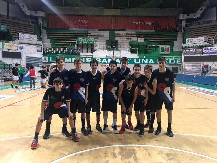 Gli Under 14 Elite battono la capolista