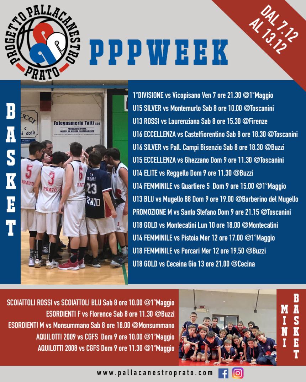 PPPWeek 🔴🔵 dal 7 al 13 Dicembre