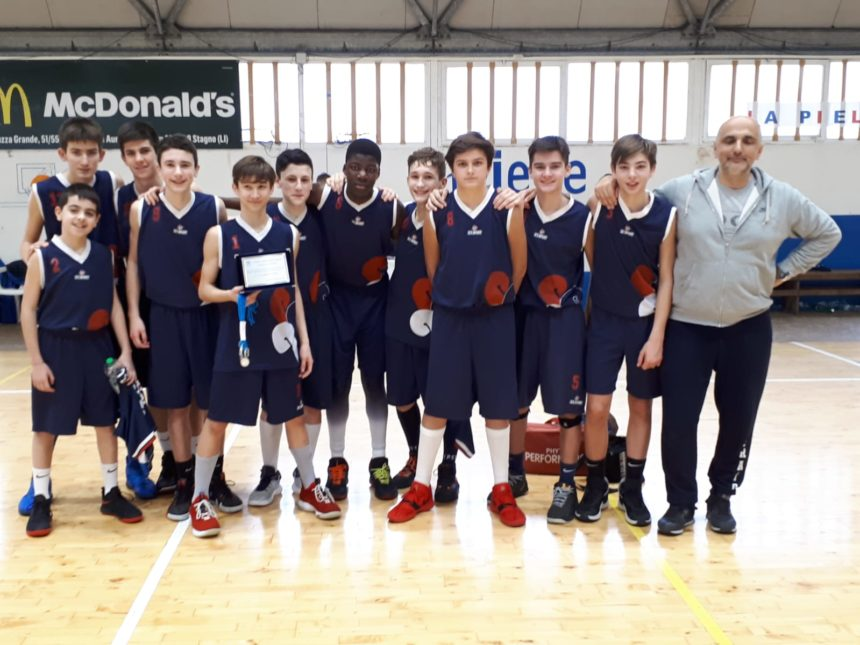 Gli Under 14 Elite secondi al Memorial Damiani
