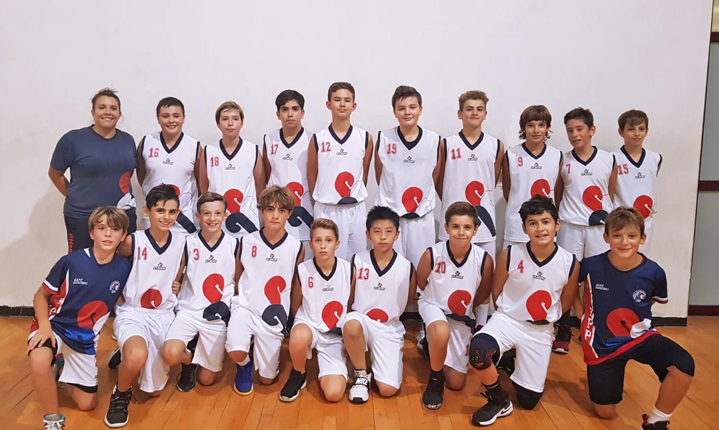 Squadra Under 13 Maschile 2019