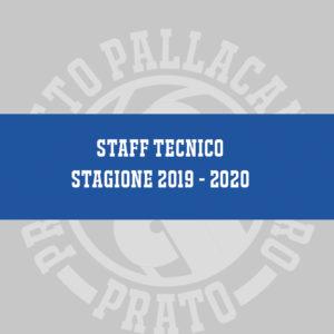 Presentazione Staff Tecnico 2019 – 2020