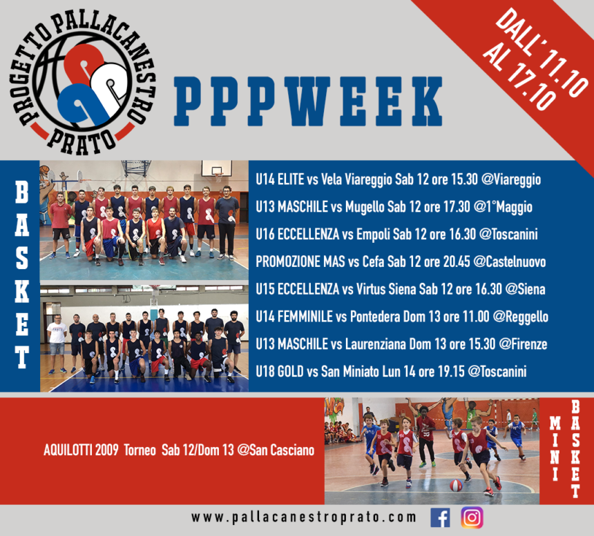 PPPWeek  dall'11 al 17 Ottobre