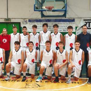 Gli Under 16 Eccellenza vittoriosi sul parquet del Pistoia Basket