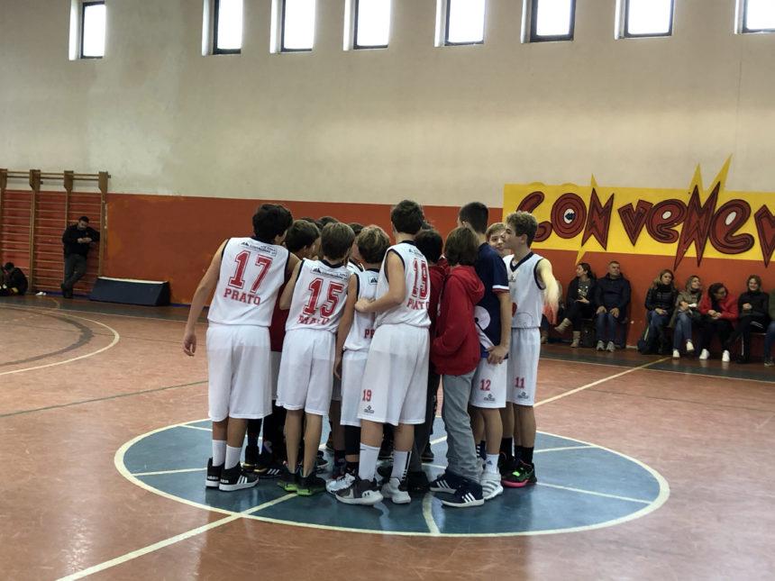 Under 13 Maschile: Netta vittoria contro Agliana