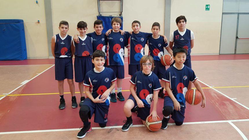 Gli Under 14 Blu sconfitti a Empoli