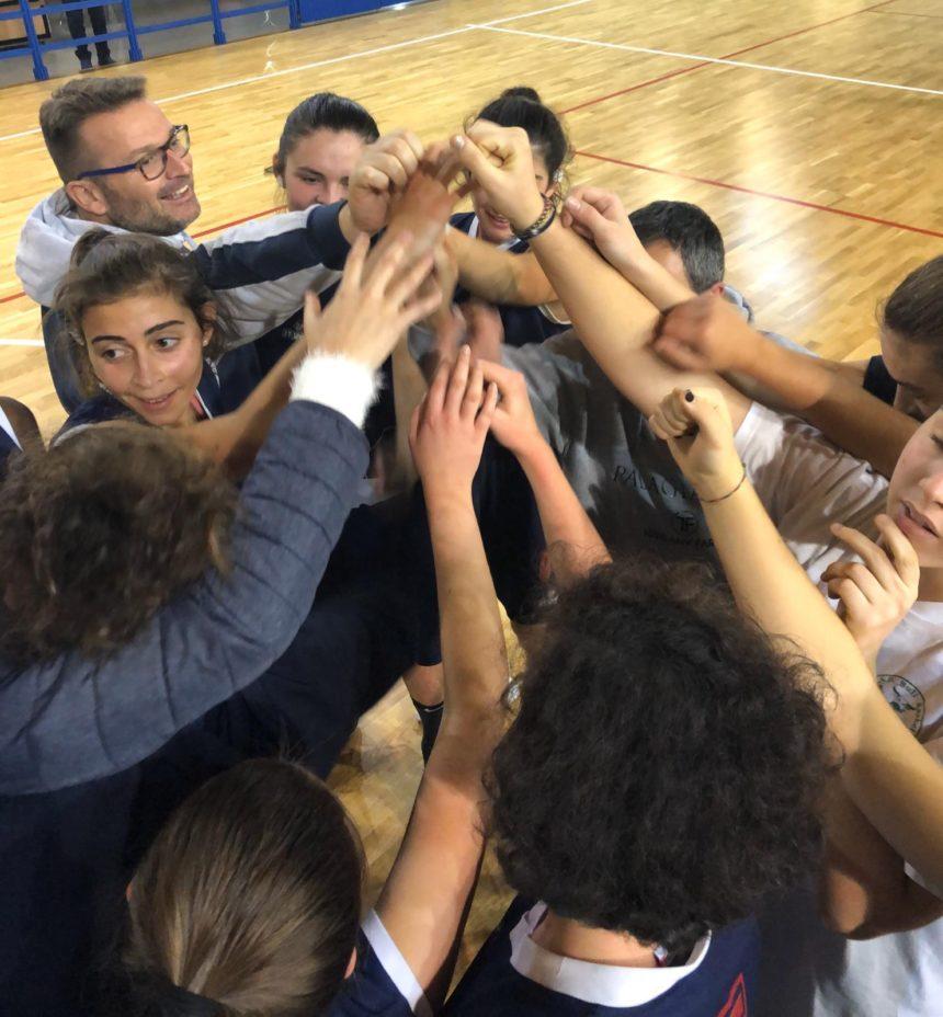 L'Under 18 femminile chiude al comando il girone d'andata