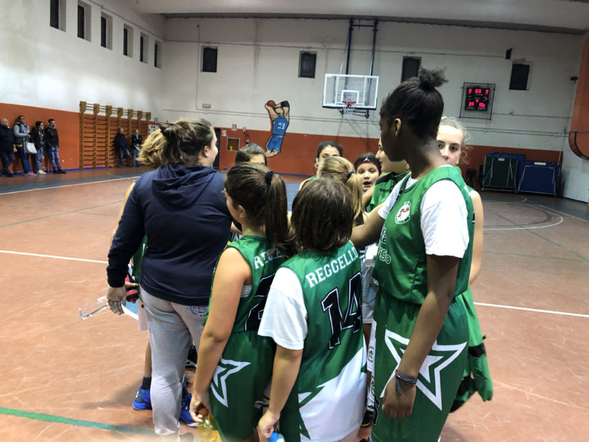 Larga vittoria per le Under 13