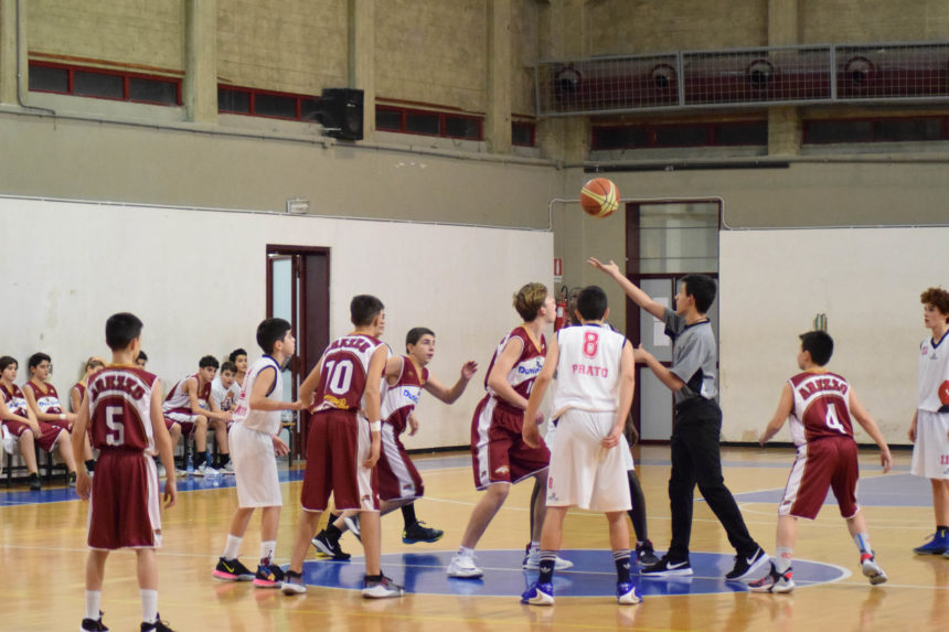 Gli Under 14 Elite vincono contro Arezzo